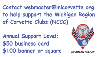 Contact Webmaster at micorvette dot org to place support ad